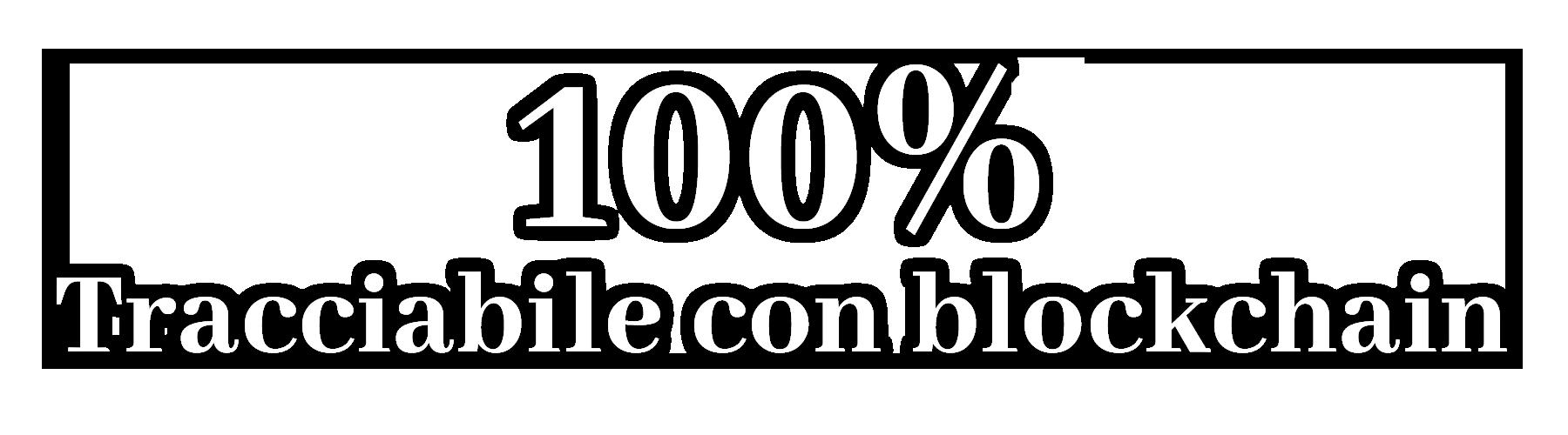 100% tracciamento
